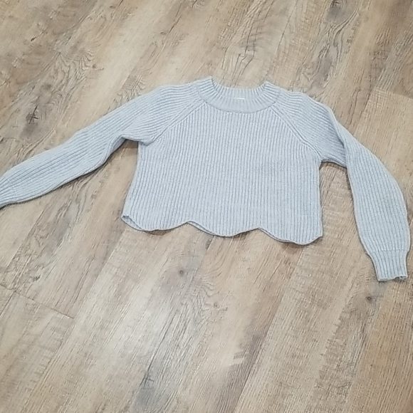 Wilfred cropped wool sweater